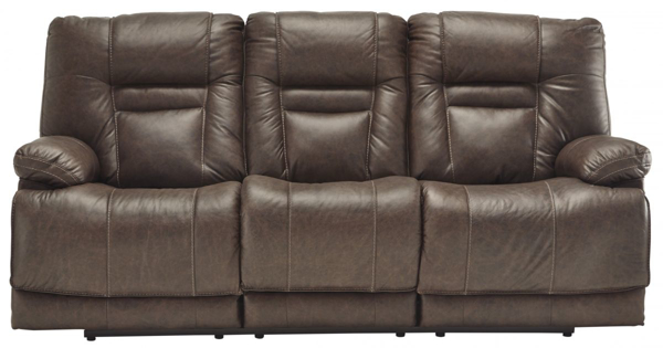 Picture of Wurstrow Umber Power Sofa