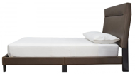 Picture of Blevins Brown Queen Upholstered Bed