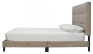 Picture of Arthur Light Brown King Upholstered Bed
