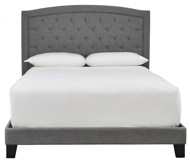 Picture of Blayney Gray Queen Upholstered Bed
