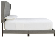 Picture of Vintasso Gray King Upholstered Bed