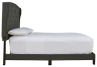 Picture of Vintasso Charcoal King Upholstered Bed