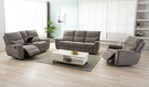 Picture of Conner Oatmeal 3-Piece Power Living Room Set