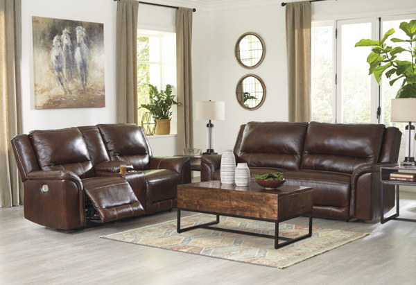 Picture of Catanzaro Leather 2-Piece Living Room Set